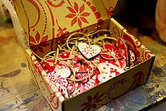 Dekorácie - Andreas: Vianočné ozdoby sada 10ks - 5913299_