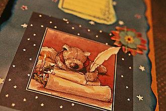 Papiernictvo - Ako sa macko tešil na Vianoce... - 5914954_