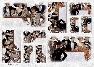 Papier - ryžový papier Gentleman - 5913823_