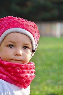 Detské doplnky - nákrčník minky ...alebo farbu si vyber! - 5911843_