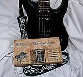 Darček muzikantovi-krabica s prianím :)