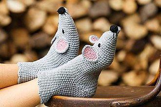 Obuv - Myškové ponožky - 5914445_