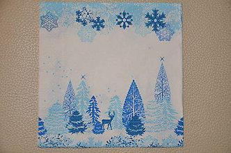 Papier - Servítka Belasé Vianoce - 5916402_