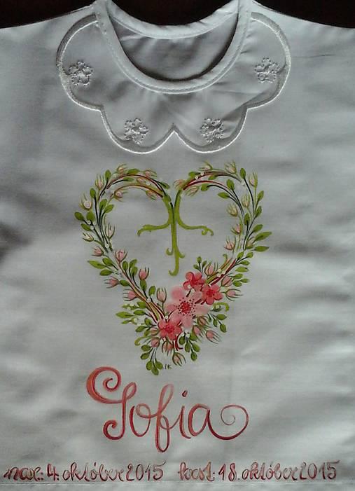 1ee744ea3f97c Púčiková ku krstu / IvanaBerdak - SAShE.sk - Handmade Detské oblečenie
