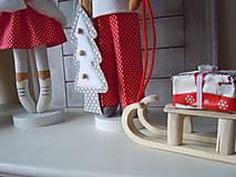 Bábiky - Vianočný párik - 5915210_