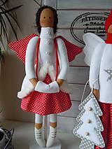 Bábiky - Vianočný párik - 5915212_