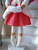 Bábiky - Vianočný párik - 5915213_