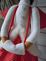 Bábiky - Vianočný párik - 5915214_