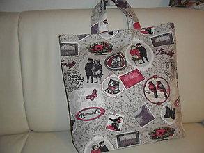 Nákupné tašky - taška nákupná nostalgická - 5917032_