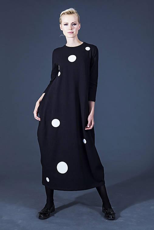 Šaty - FNDLK úpletové šaty 52 BVqK MAXI - 5915269_