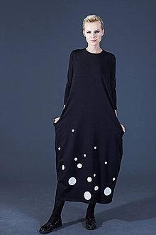 Šaty - FNDLK úpletové šaty 51 BVqK MAXI - 5915265_