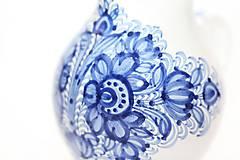 Nádoby - Modrý džbán na víno - 5915620_