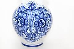 Nádoby - Modrý džbán na víno - 5915621_