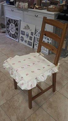 Úžitkový textil - Sedáky s volánikom pre Andrejku - 5916102_