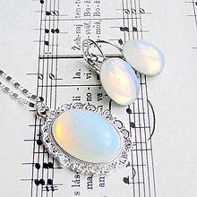 Sady šperkov - Opalite in Silver Set - 5921148_