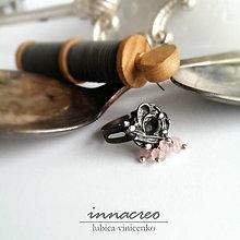 Prstene - _chaos_ prsteň s ruženínom - 5919222_