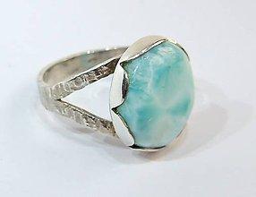 Prstene - Nebeský Larimar - 5922076_