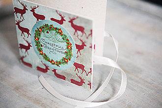 Papiernictvo - Vianočná obálka na peniaze *7 - 5919971_