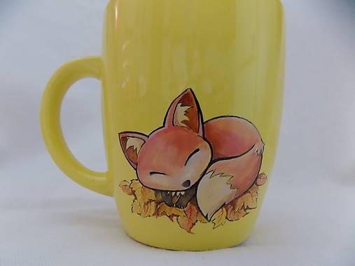 Hrnček - Sleeping Fox