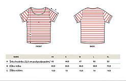 Tričká - Dámske tričko Májofka modrá - 5919537_