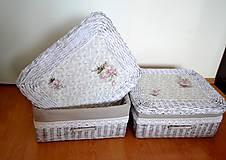 Košíky - Box patinka LUCKA/ks - 5920980_