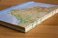 - Zápisník s mapou Južnej Ameriky - 5923720_