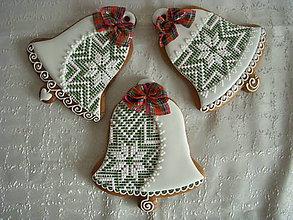 Dekorácie - vianočný zvonček na zavesenie - 5923784_