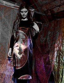 Šaty - Medúza-autorská látka - 5926131_