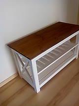 Nábytok - botník- lavička - 5923011_