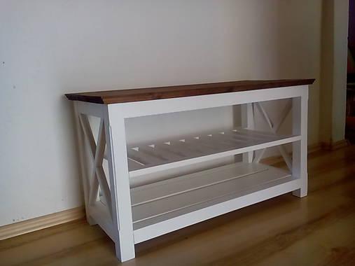 botník- lavička