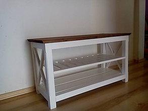 Nábytok - botník- lavička - 5923008_