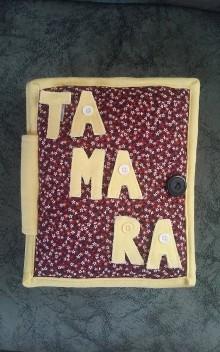 Hračky - Queit Book / Latkova kniha pre Tamarku - 5924693_
