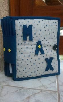 Hračky - Quiet Book / Latkova kniha pre Maxa - 5925864_