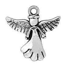 Komponenty - Prívesok anjelik - 5925785_