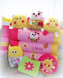 Textil - Podlhovastý vankúš s menom 23x80cm - 5930678_