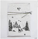 Papiernictvo - *Biele Vianoce* - 5927220_