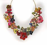XXXXL flowers náhrdelník