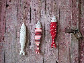 Dekorácie - vianočné rybky - 5929141_