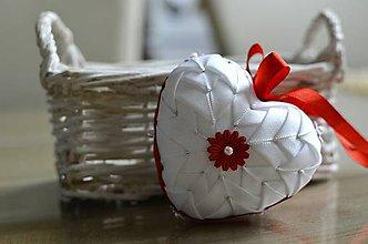 Dekorácie - Valentínske srdiečko - 5927491_