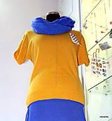Svetre/Pulóvre - KORI- jemný svetřík s krátkým rukávem - 5926967_