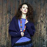 Svetre/Pulóvre - KORI- jemný svetřík s krátkým rukávem - 5926975_