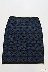 Sukne - BIRDINA - pletená sukně nad kolena - rovná - 5927001_