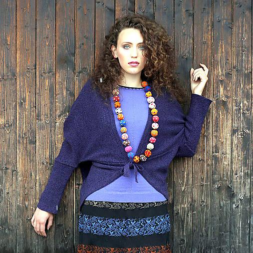 KORI- jemný svetřík s krátkým rukávem