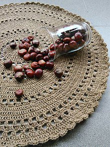 Úžitkový textil - Gaštanko - 5926831_