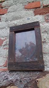 Rámiky - Starodrevný rámik so sklom - 5929229_