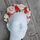 Ozdoby do vlasov - Parta z ruží s nádychom jesene - 5931286_