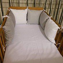Textil - Vankúšiky šedo-biele - 5934595_