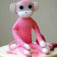 Hračky - opica Alica parádnica - 5932402_