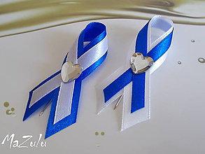 Pierka - svadobné pierko - kráľovská modrá - 5932169_