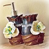 Orchid Jane (sada 2 ks) - kúpeľňová sada